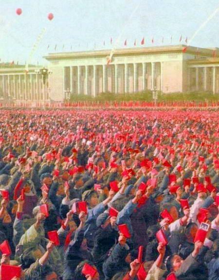 """Ảnh: """"Biển đỏ"""" khủng bố trên quảng trường Thiên An Môn"""