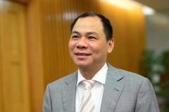 Tỷ phú Phạm Nhật Vượng được thống kê là người giàu nhất Việt Nam (tính theo tài sản nổi).  Ảnh internet