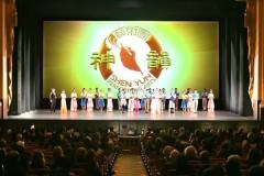 Năm 2017, trong khi Shen Yun được chào đón ngay từ những buổi diễn đầu tiên của năm, thì lại đang bị ngăn cản ở một số nơi như Hàn Quốc, Việt Nam và Thái Lan. (Ảnh chụp buổi biểu diễn của Shen Yun tại San Francisco hôm 5/1)