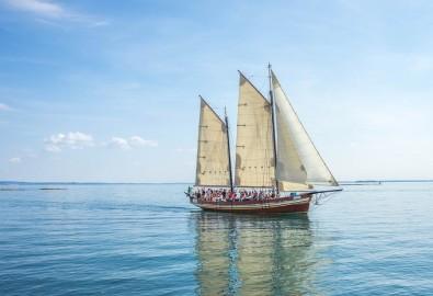 Giống như một chiếc thuyền trên sông, thuận theo dòng chảy của tự nhiên, cuộc sống của chúng ta sẽ dễ dàng hơn rất nhiều. (Ảnh Pixabay)