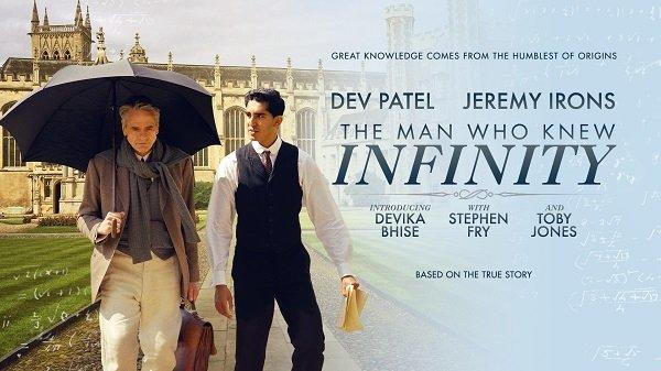 """Bộ phim """"The Man Who Knew Infinity"""" kể lại cuộc đời của nhà toán học huyền thoại Srinivasa Ramanujan. (Ảnh: Internet)"""