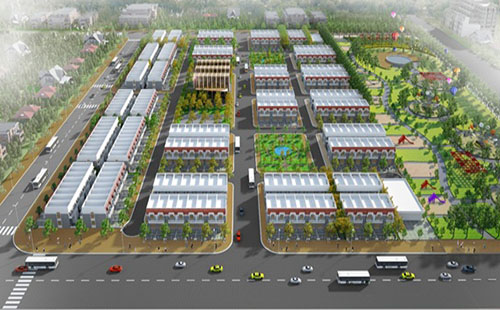 Phối cảnh dự án nhà ở của Formosa ở thị xã Kỳ Anh (Hà Tĩnh). Ảnh: Ban Quản lý Khu kinh tế Hà Tĩnh cung cấp cho vnexpress