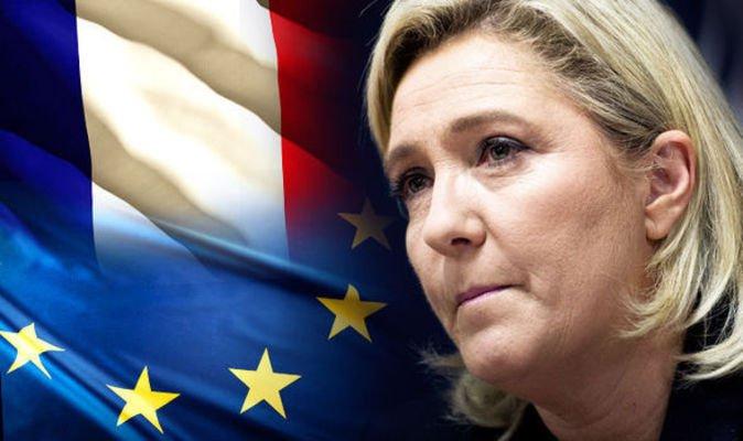 Bà Marine Le Pen tuyên bố sẽ mở cuộc bỏ phiếu rời khỏi EU nếu đắc cử tổng thống Pháp. (Ảnh: Getty)
