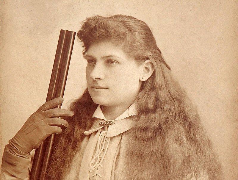 Oakley vào những năm 1880. (Ảnh: Historicalfirearms)