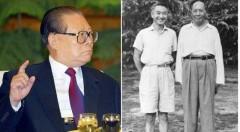 Giang Trạch Dân (trái); Lý Chí Tuy và Mao Trạch Đông (phải). (Ảnh: Internet)