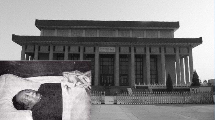 Nhà tưởng niệm Mao Trạch Đông, nơi đặt di thể cố Chủ tịch Trung Quốc Mao Trạch Đông. (Ảnh: NTDTV)