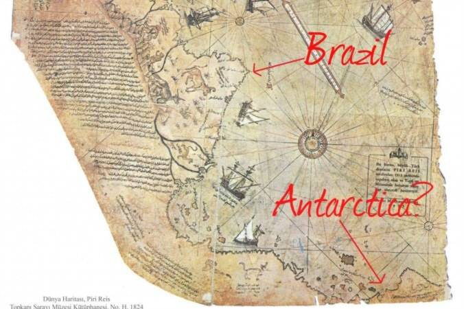 Piri Reis, nam cực, bằng giả, bản đồ 500 năm, Bài chọn lọc,