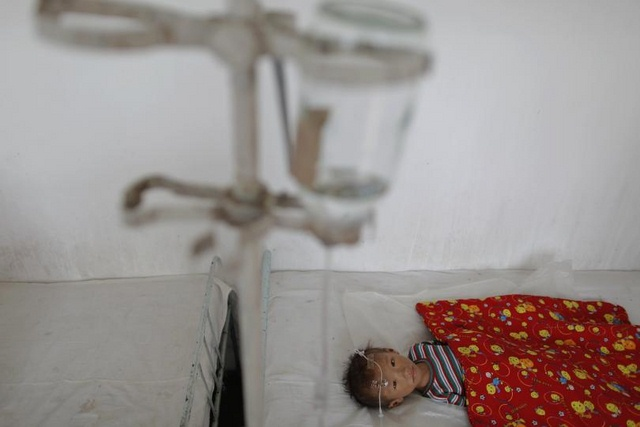 25.000 trẻ em Triều Tiên suy dinh dưỡng ở mức rất trầm trọng, cần điều trị khẩn cấp