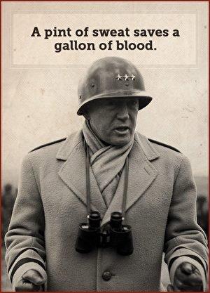 Tướng Patton. (Ảnh: Internet)
