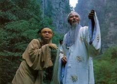 Tôn Ngộ Không và Bồ Đề Tổ sư. (Cảnh trong phim Tây Du Ký)