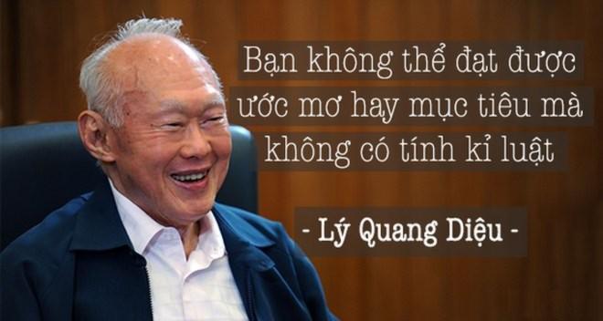 Lý Quang Diệu, cách dạy con,