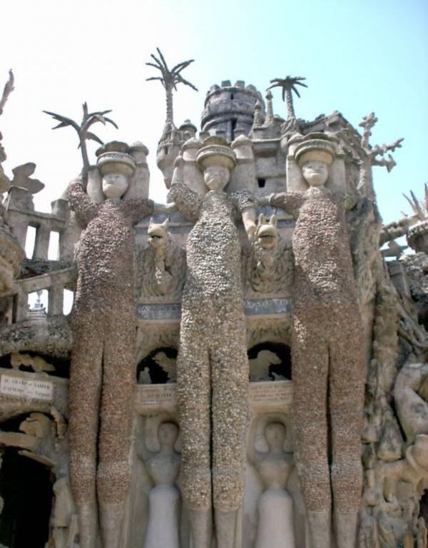 sưu tầm đá, Palais Idéal, cung điện lí tưởng,
