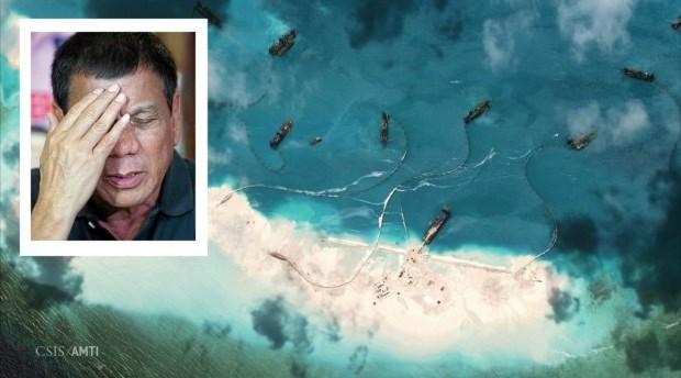 """Ông Duterte ra lệnh đưa quân đến đảo """"trống"""" ở Trường Sa - 1"""