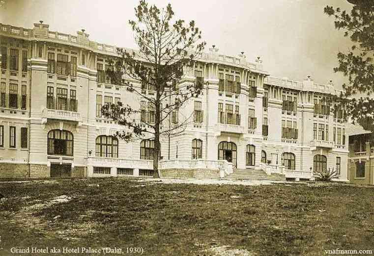 Khách Sạn Palace Đà Lạt, nơi gặp mặt lần đầu của vua Bảo Đại và hoàng hậu Nam Phương. (Ảnh qua lichsunuocvietnam.com)