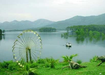 Hồ Yên Trung – Yên Tử. Ảnh baoquangninh.com.vn