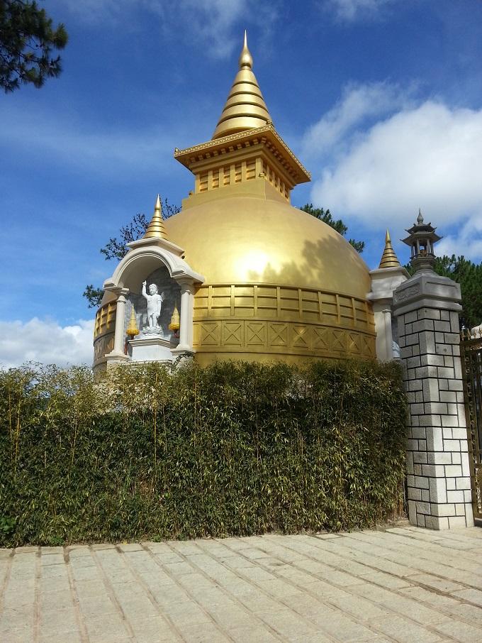 Thiên viện Trúc Lâm Đà Lạt. Ảnh trithucvn.net