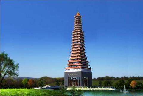 Nhiều KTS khẳng định tòa tháp không rõ ý đồ nghệ thuật, thiết kế rất xấu. Ảnh baodatviet.vn