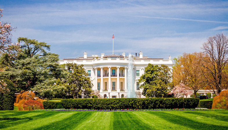 Nhà Trắng. Ảnh Washington.org