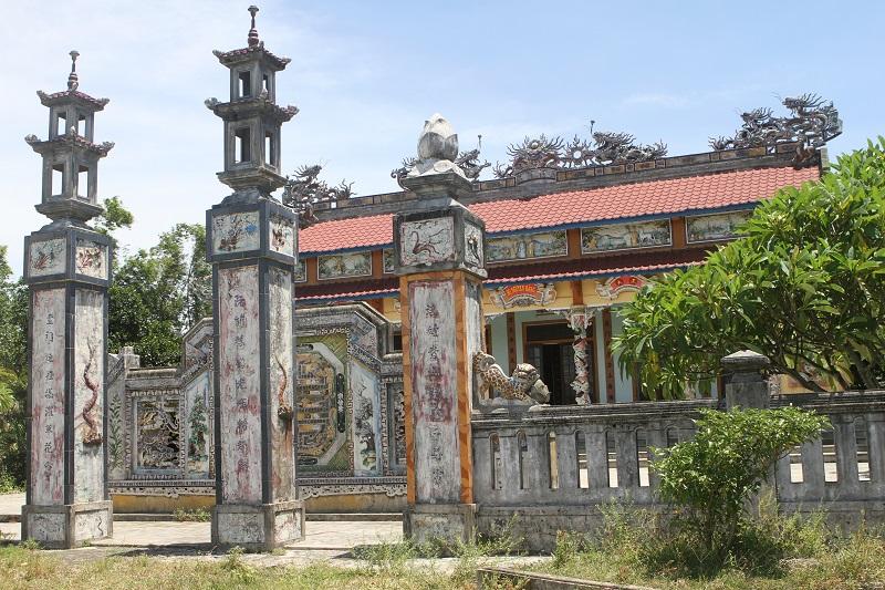 Nhà thờ họ Nguyễn Đăng. (Ảnh languudiem.com)