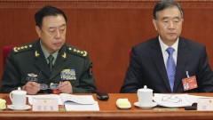 Tướng Phạm Trường Long (trái) Phó Chủ tịch Phó Chủ tịch Quân ủy Trung ương của Giải Phóng Quân Trung Quốc (Ảnh: Getty)