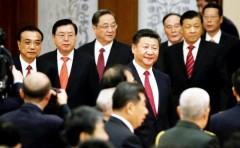 Lãnh đạo Trung Quốc. Ảnh New York Time