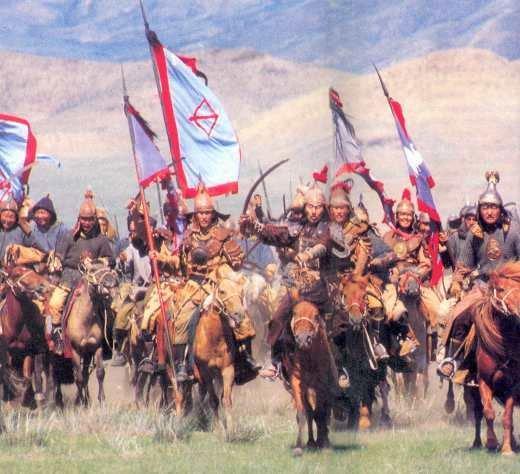 Vó ngựa quân Mông Cổ gieo rắc kinh hoàng khắp thế giới. (Ảnh từ Pinterest)