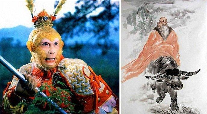 Tôn Ngộ Không tuy phá phách nhưng lại là bậc thượng sĩ đức độ hiếm có trong Tây du ký, không truy cầu thần thồn hay phú quý. (Ảnh: chenliangcai)