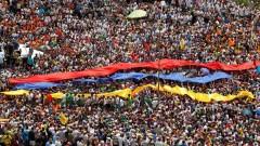 Biểu tình tạiVenezuela hồi tháng 4