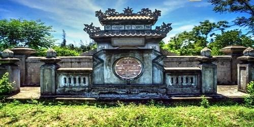 Lăng mộ Trương Đăng Quế. (Ảnh từ kienthuc.net.vn)