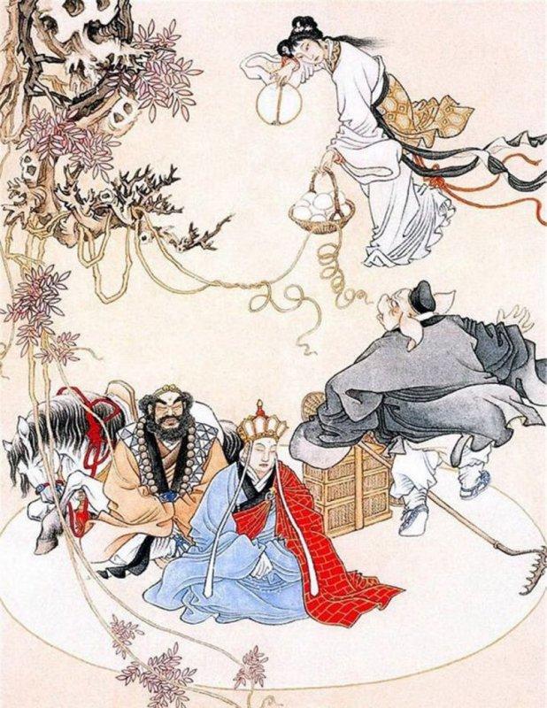Ba hình tượng biến hoá của Bạch Cốt Tinh lần lượt đại biểu cho Tình – Ái – Dục của một người. (Ảnh: 148apps)