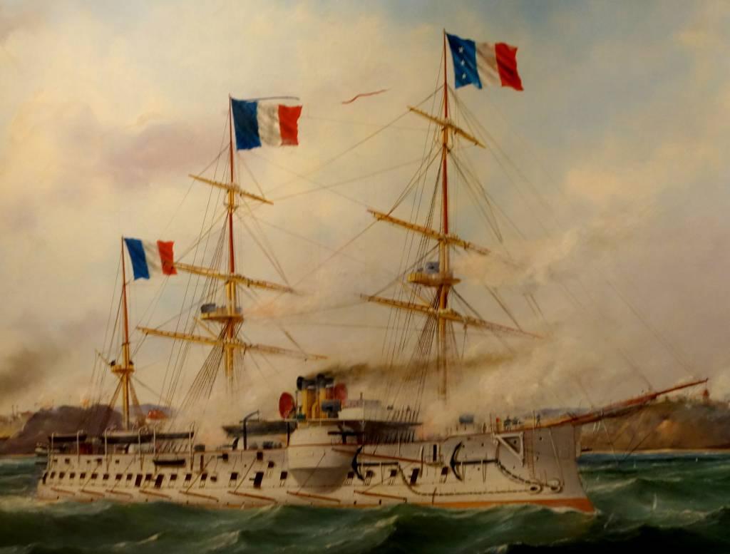 chiến hạm quân Pháp 1858