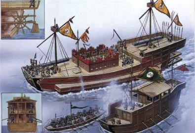chiến thuyền quân Nguyễn