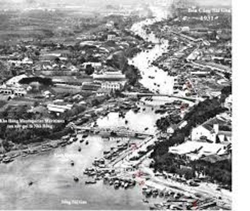 Sông Sài Gòn xưa