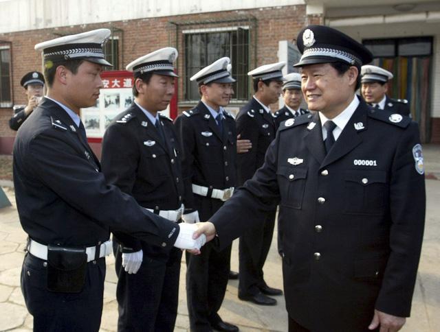 Trùm an ninh Chu Vĩnh Khang cho quân bao vây Trung Nam Hải. Ảnh Trí Thức Trẻ