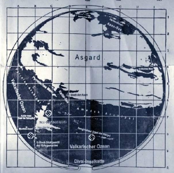 đức quốc xã, vương quốc Agartha, trái đất rỗng,