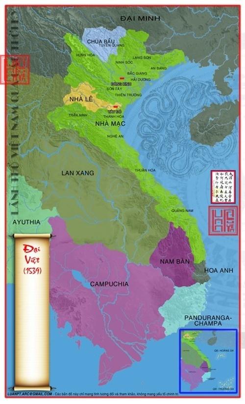 Vũ Văn Uyên lập một cõi riêng ở vùng Lào Cai, Yên Bái và Tuyên Quang. (Ảnh từ wikipedia.org)