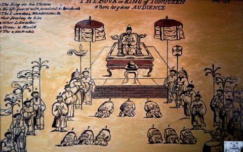 Triều đình thời Lê Trung Hưng. (Ảnh từ wikipedia)