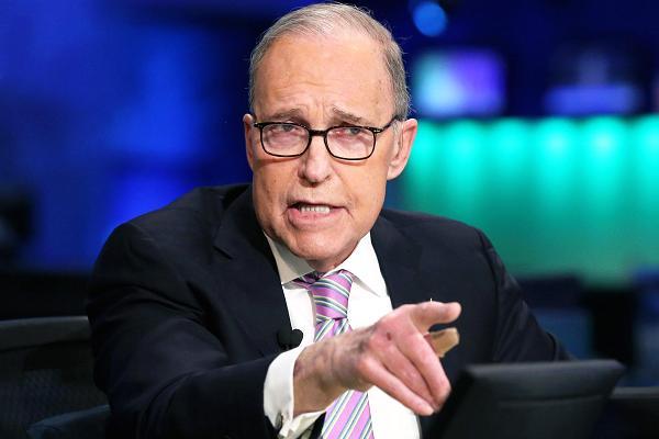 Cố vấn trưởng Kinh tế Nhà Trắng Larry Kudlow . Ảnh CNBC.com