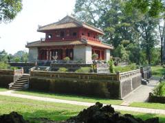 Lăng vua Minh Mạng. (Ảnh từ Wikipedia)