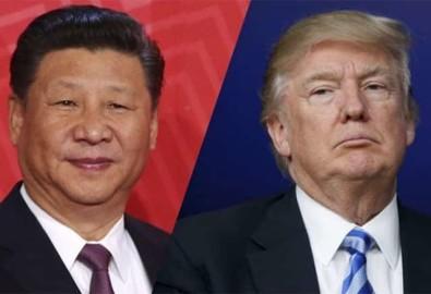 Chiến tranh thương mại Mỹ Trung. Ảnh AP