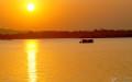Hồ Động Đình ngày nay không còn cảnh đẹp như xưa kia. Ảnh từ Ảnh wikipedia.org