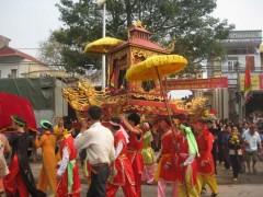 Nễ hội đền Ngọc Lâm