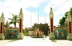 Đền thờ Mai Hắc Đế. (Ảnh từ thuvienlichsu.com)