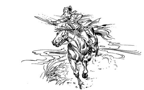 Thánh Thiên công chúa (Tranh minh họa)