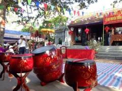 Lễ hội Cồn Giang ở Thái Hà tưởng nhớ Quách Hữu Nghiêm