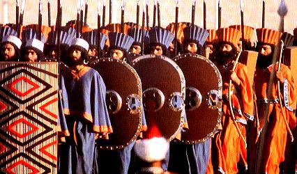 Đội Cấm quân (Bất tử) của Xerxes Đại đế. Ảnh wikipedia.org