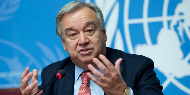 Tổng Thư ký Liên Hiệp Quốc Antonio Guterres. Ản algemeiner.com