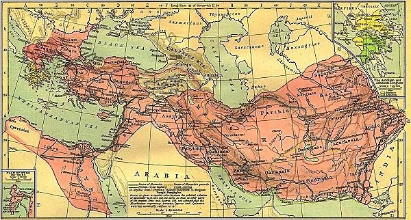 Bản đô rộng lớn của Hy Lạp dưới thời Alexandros Đại Đế. (Ảnh từ kenh14.vn)