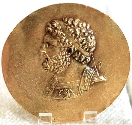 Vua Philippos II. (Ảnh từ wikipedia.org)