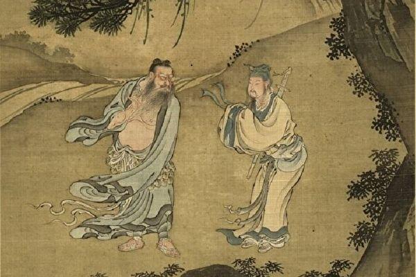 Lý Lâm Phủ đến gặp đạo sĩ, nói rằng mình muốn làm tể tướng, không muốn thành tiên. (Tranh minh họa qua epochtimes.com)